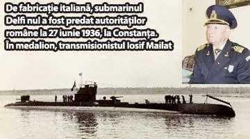 """Iosif Mailat, transmisionistul de pe """"Delfinul"""", submarinul românesc din cel de-al II-lea război mondial 5"""