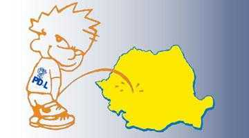 Andrei Gerea a postat pe blog poza unui copil care face pipi pe România 6