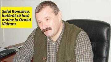 Ocolul Silvic Vidraru, dat ca exemplu negativ de şeful Romsilva 5