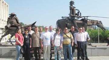 Delegaţia Comunităţii Montane Iezer Muscel în Bulgaria la conferinţa internaţională a cinci ţări 5
