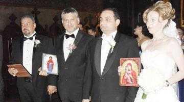 Executorul judecătoresc Iordache, naş pentru avocaţii Alina Hera şi Sergiu Dură, proaspăt căsătoriţi 3