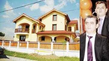 """Ştefan Lăzăroiu i-a făcut un palat """"Stăpânului"""" Mircea Andrei, la Sârbii Măgura 3"""
