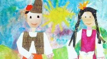 Expoziţie internaţională de pictură pentru copii, la Goleşti 6