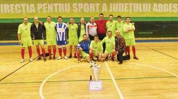 Campioni naţionali de la Fisc. Băieţii lui Dorin Falcă au câştigat Cupa Finanţistului la fotbal 4