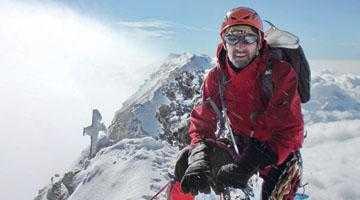 Poveste de alpinist. Emblema Alpilor, cucerită  de un salvamontist argeşean 3