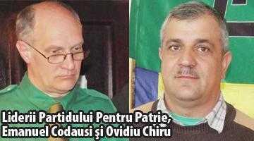 Plângere penală împotriva poliţiştilor care au confiscat un banner al Partidului Pentru Patrie 3
