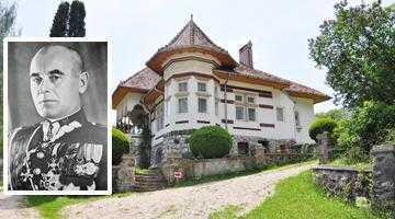 Palatul patriarhal de la Dragoslavele, lagăr pentru mareşalul Poloniei şi suita sa 3