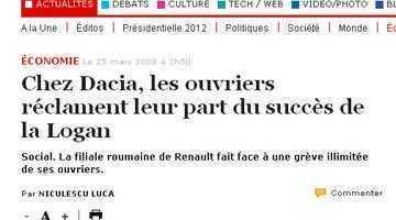 Liderii sindicali de la Dacia, răsfăţaţii presei franceze 5