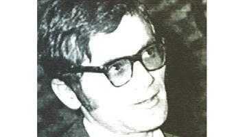 Poetul Cezar Baltag, colegul de liceu al preşedintelui  Emil Constantinescu 5