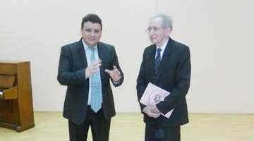 Lansare de carte şi concert, susţinute de profesorul Moise Mitulescu 7