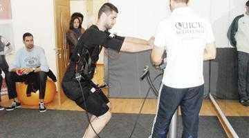 Baschetbaliştii de la BCM Piteşti s-au înscris la antrenamentul QuickBodyform 5