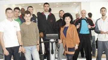 Baschetbaliştii de la BCM Piteşti s-au înscris la antrenamentul QuickBodyform 6