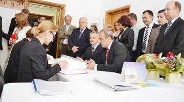Primarul fără contracandidat şi-a depus dosarul pentru un nou mandat 5