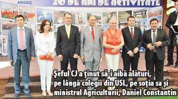 USL a făcut expoziţie la Muzeul Goleşti, cu candidaţii la alegerile locale 7