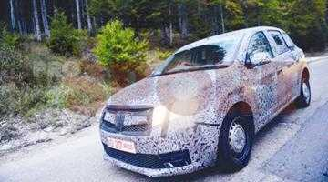 """Noile modele Dacia se plimbă """"îmbrăcate"""" prin ţară 3"""