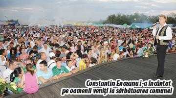 Constantin Enceanu a făcut spectacol la Ziua Comunei Lunca Corbului 5