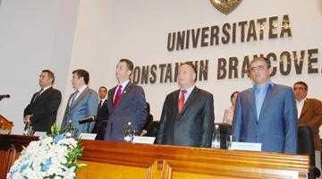 """Deschidere de an la Universitatea """"Constantin Brâncoveanu"""" 6"""