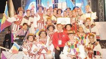 Ansamblul Dorul a câştigat locul I la Festivalul Mondial de Dans din Coreea de Sud 5