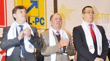 Vinerea trecută, în prezenţa a peste 1000 de participanţi, trioul Ponta-Antonescu-Constantin  a dat startul campaniei USL de la Piteşti 7
