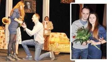 """Cerere în căsătorie, pe scena teatrului """"Davila"""" 5"""