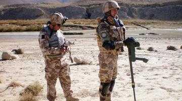 Vânători de munte argeşeni în infernul afgan 4