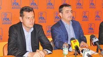 Mircea Andrei şi Daniel Dragomir, campionii donatorilor PDL Argeş 5