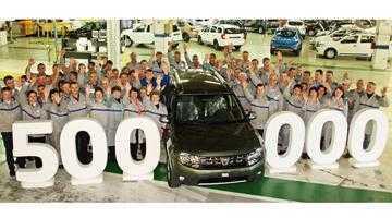 La Mioveni a fost fabricat Dusterul cu numărul 500.000 3