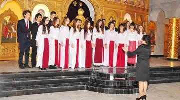 Concert de colinde  la catedrala din Mioveni 5