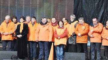 PDL Argeş a avut 550 de membri la mitingul  anti-Ponta de la Bucureşti 6