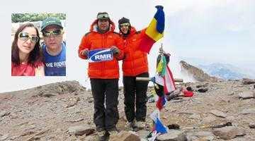 Doi argeşeni fac istorie în alpinism. Soţii Dinoiu au escaladat Aconcagua, cel mai înalt munte din emisfera sudică 2