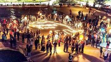 Ora pământului, sărbătorită  şi la Mioveni de sute de oameni 2