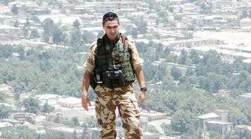 """Militar argeşean în teatrele de luptă din Irak şi Afganistan: """"Înainte de fiecare misiune, îmi iau nevasta  de mână şi o duc la notar"""" 3"""