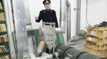 Că tot poate izbucni oricând un război la graniţa cu Ucraina... Incursiune în bunkerul antiatomic de sub Biblioteca Judeţeană 6