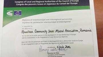 Comunitatea Montană Iezer Muscel a fost premiată la Strasbourg 3