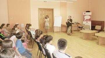 """Prelegere despre istoria scrisului şi a cărţii la Biblioteca Judeţeană """"Dinicu Golescu"""" Argeş 6"""
