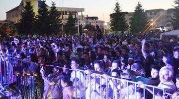 Direcţia 5 şi Anda Adam, concert incendiar la Zilele oraşului Mioveni 4