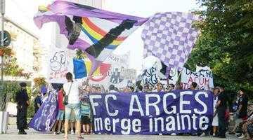 Suporterii FC Argeş vă cheamă alături pentru reînfiinţarea echipei 4