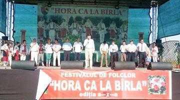 """Peste 10.000 de persoane au fost prezente la festivalul de folclor """"Hora ca la Bârla"""" 5"""