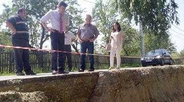 Inundațiile au lovit și la Mihăești 4