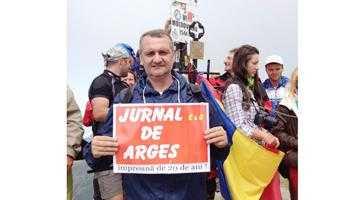 Jurnalul de Argeş, pe cel mai înalt vârf din România 2