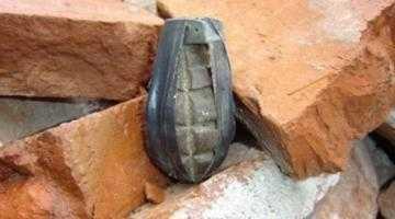 Grenadă găsită la Mălureni 3