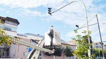 Sistem de semaforizare nou la Mioveni din 30 august 4
