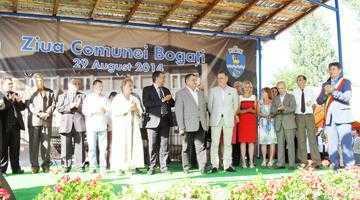 Ionuţ Dolănescu a susţinut un concert de excepţie la ziua comunei Bogaţi 3