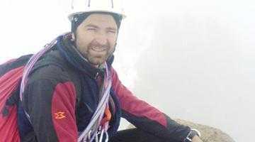 Marius Gane a plecat cu mâna în ghips în expediţia de cucerire a vârfului Khan Tengri din Himalaya 5