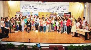 """Festivalul-Concurs de Teatru pentru Copii şi Tineret """"Ludicus"""" şi-a ales câştigătorii 3"""