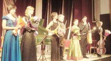 Concert extraordinar de muzică barocă în faţa unei săli arhipline, la Piteşti 5