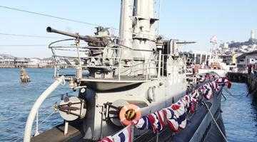 O oră pe submarinul USS Pampanito 5