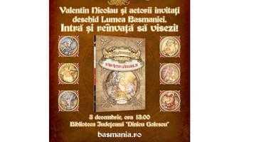 """Scriitorul Valentin Nicolau îşi lansează  la Piteşti romanul de fantasy """"Basmania"""" 6"""