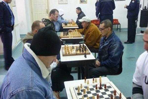 Campionat național de șah pentru deținuți la Mioveni 6