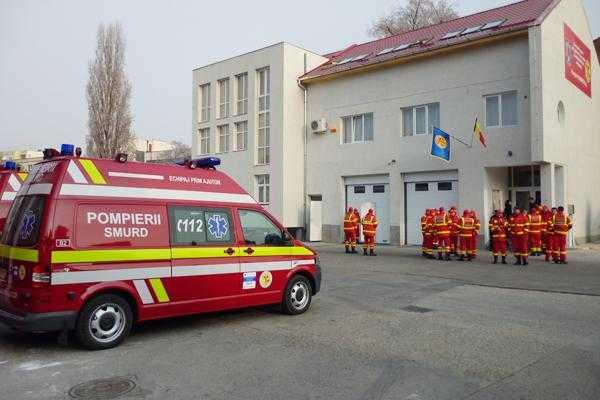 Centrul regional SMURD se va construi la Unitatea de Jandarmi de pe strada Smeurei 5